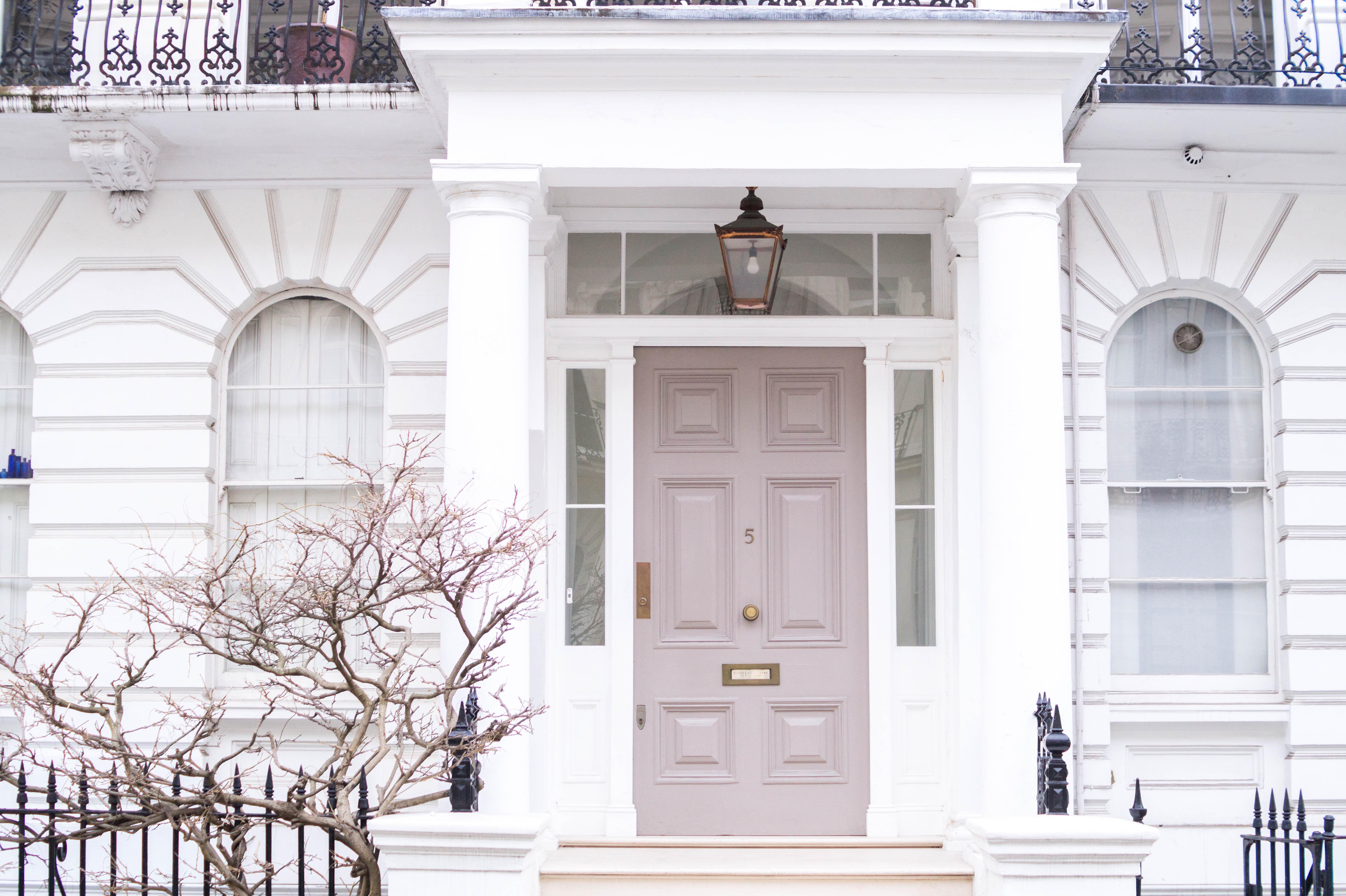 london notting hill kensington door
