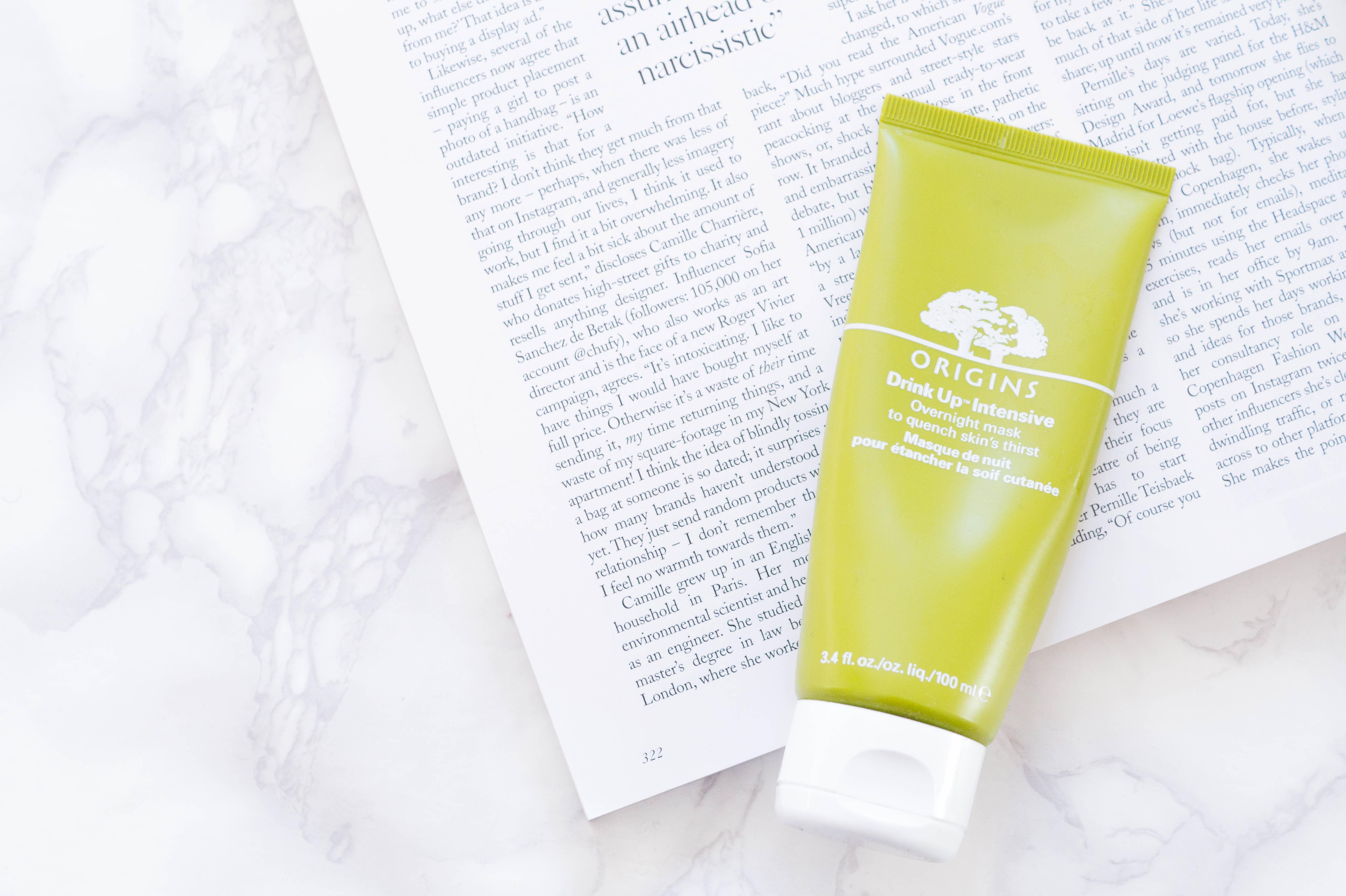 origins drink up intensive overnight mask skincare