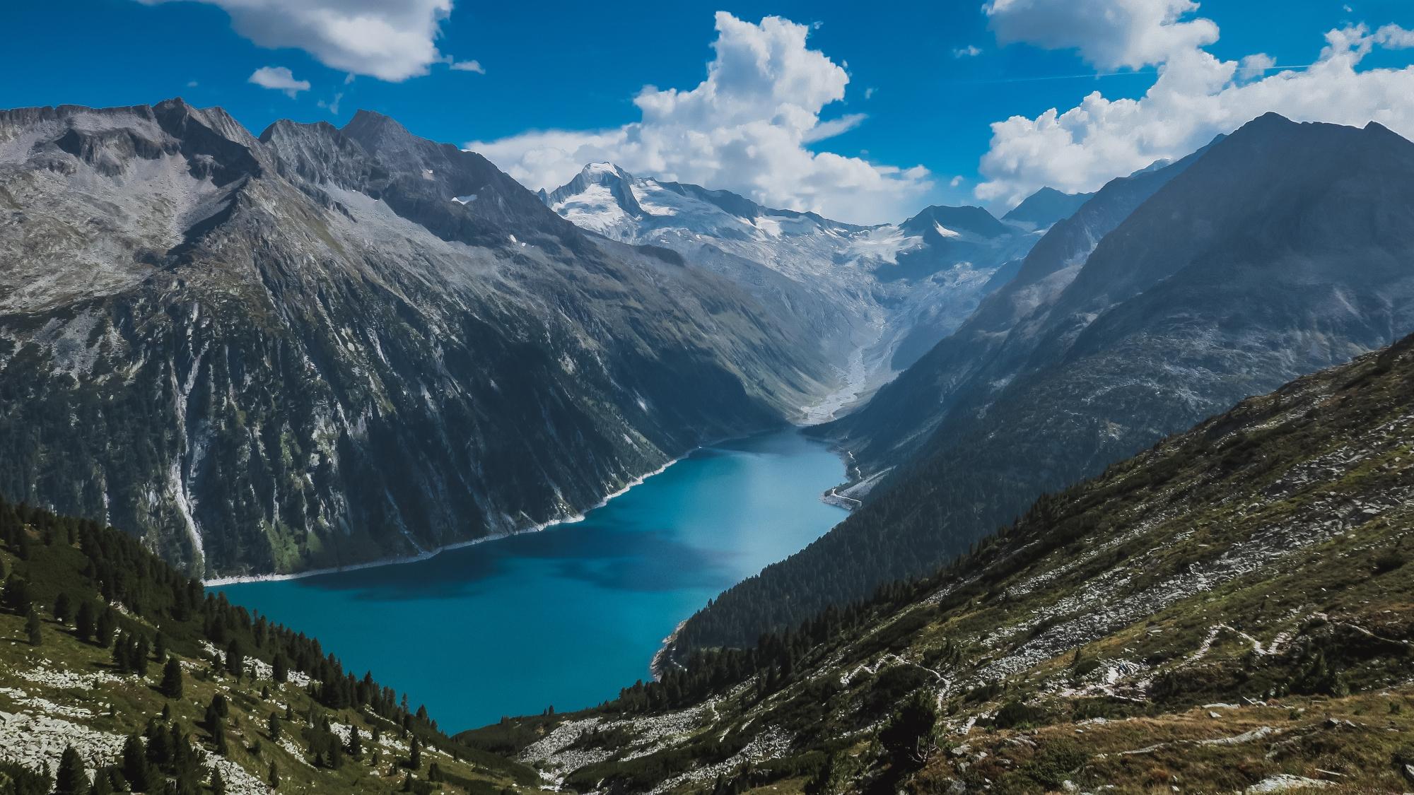 alps alpen mountain mountains berg berge see lake primetimechaos