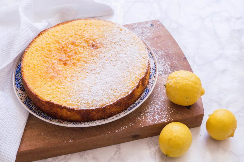 Easy Spring Lemon Cake Recipe | Bake With Me