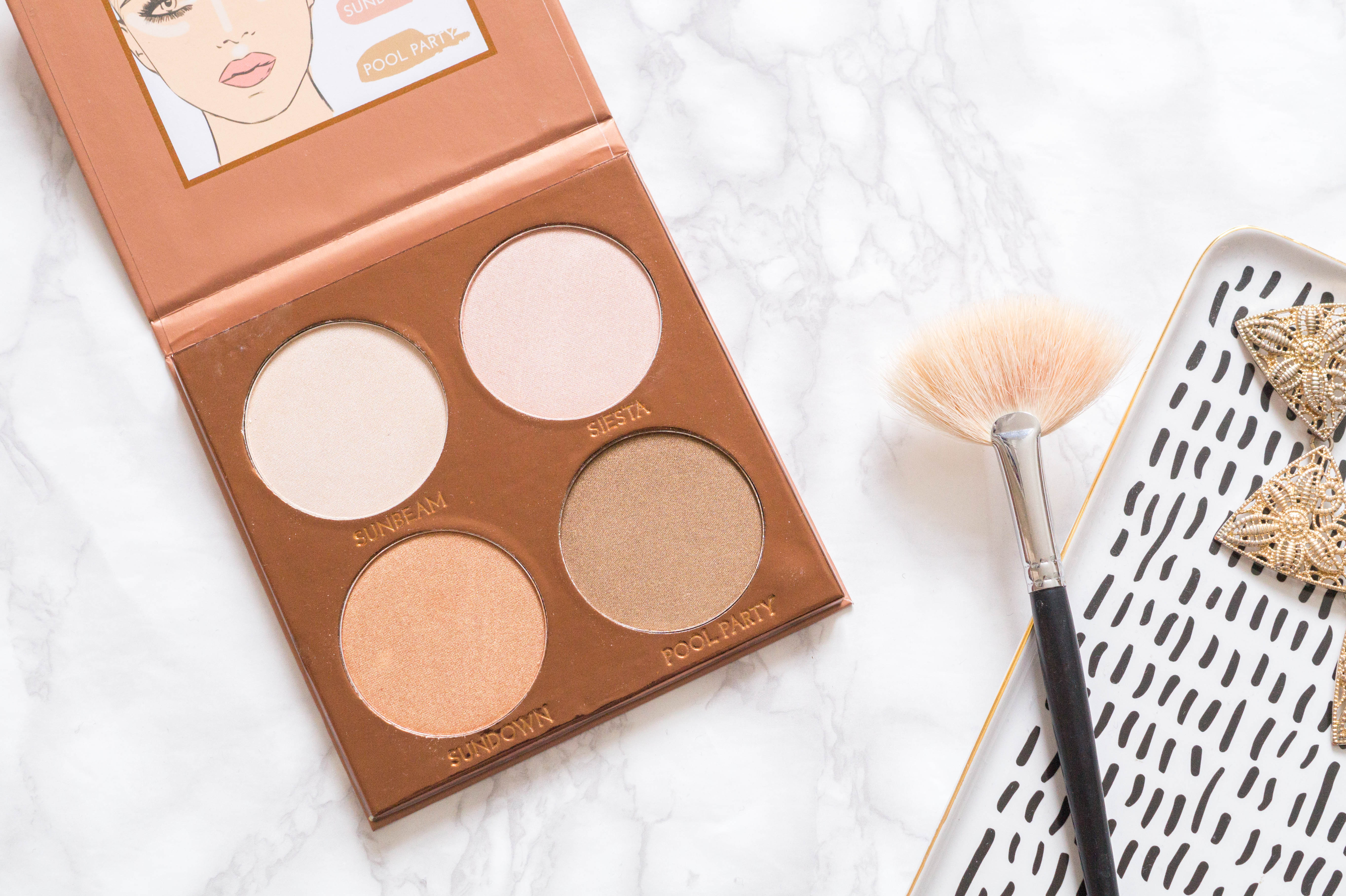 primark glow kit swatches review flatlay beauty blog makeup blogger