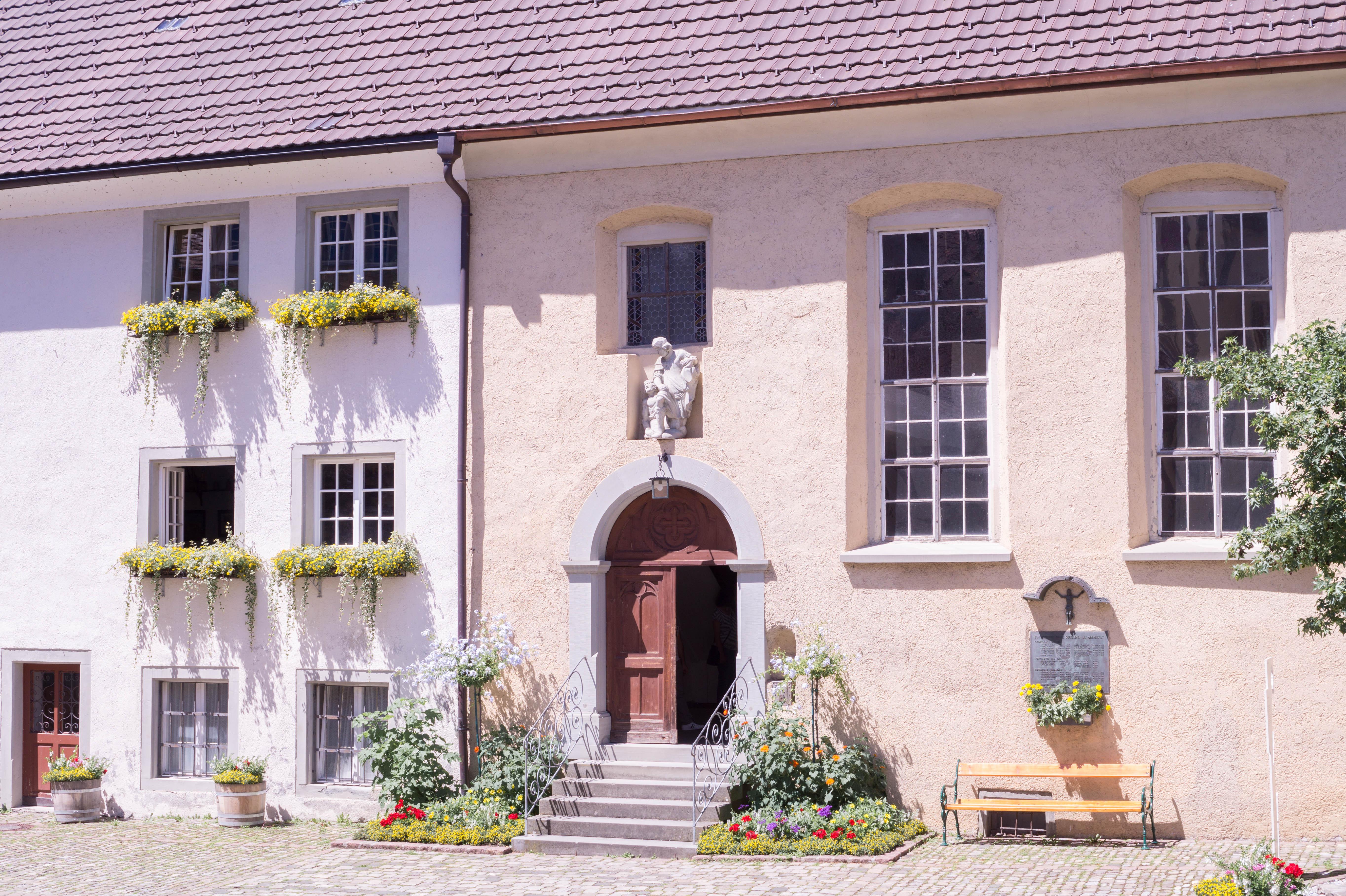 Bregenz Austria Old Town Summer Flowers