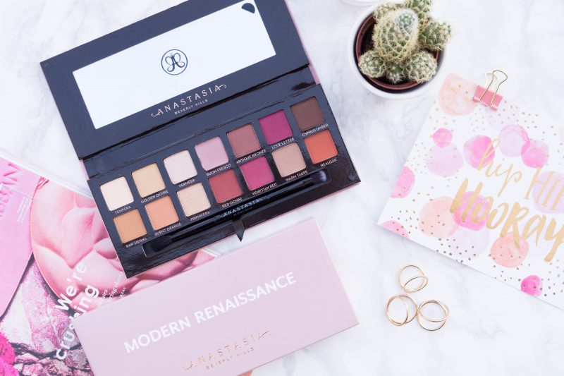 Anastasia Beverly Hills Modern Renaissance Palette: Review & Swatches