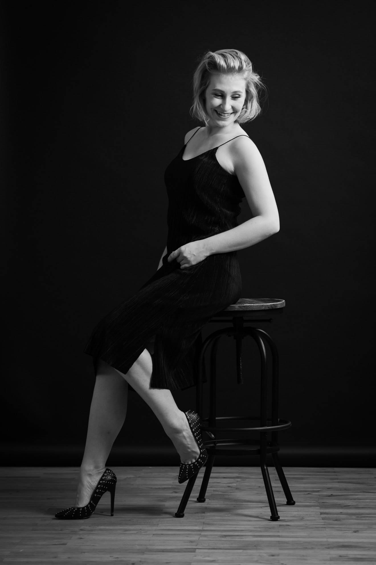 primetime chaos black and white photography harry voglhuber dress chair