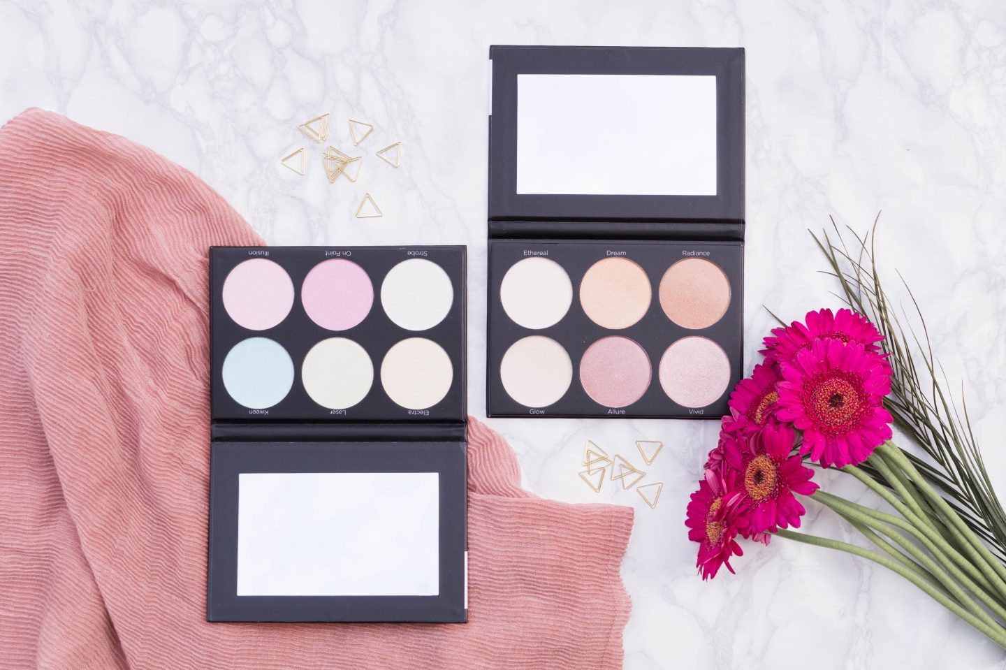 BH Cosmetics Highlight Palettes – Dupe for Anastasia?