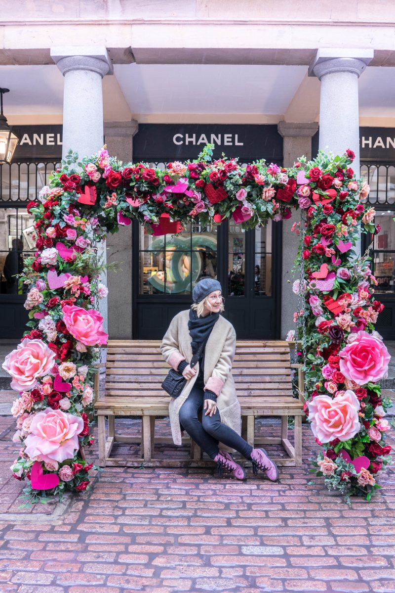 Teddy Coat, Beret, Velvet Boots & Three Things to Do at Covent Garden | London Love #7