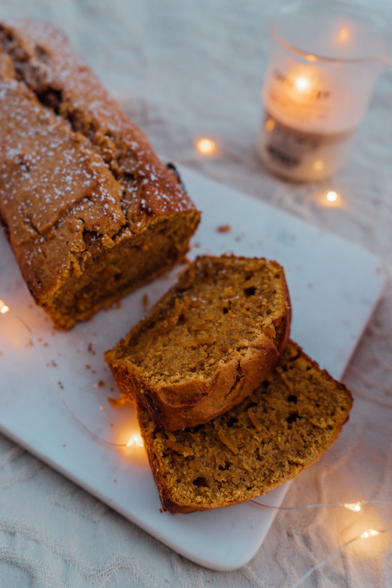 Autumn Baking: Pumpkin Gingerbread Recipe
