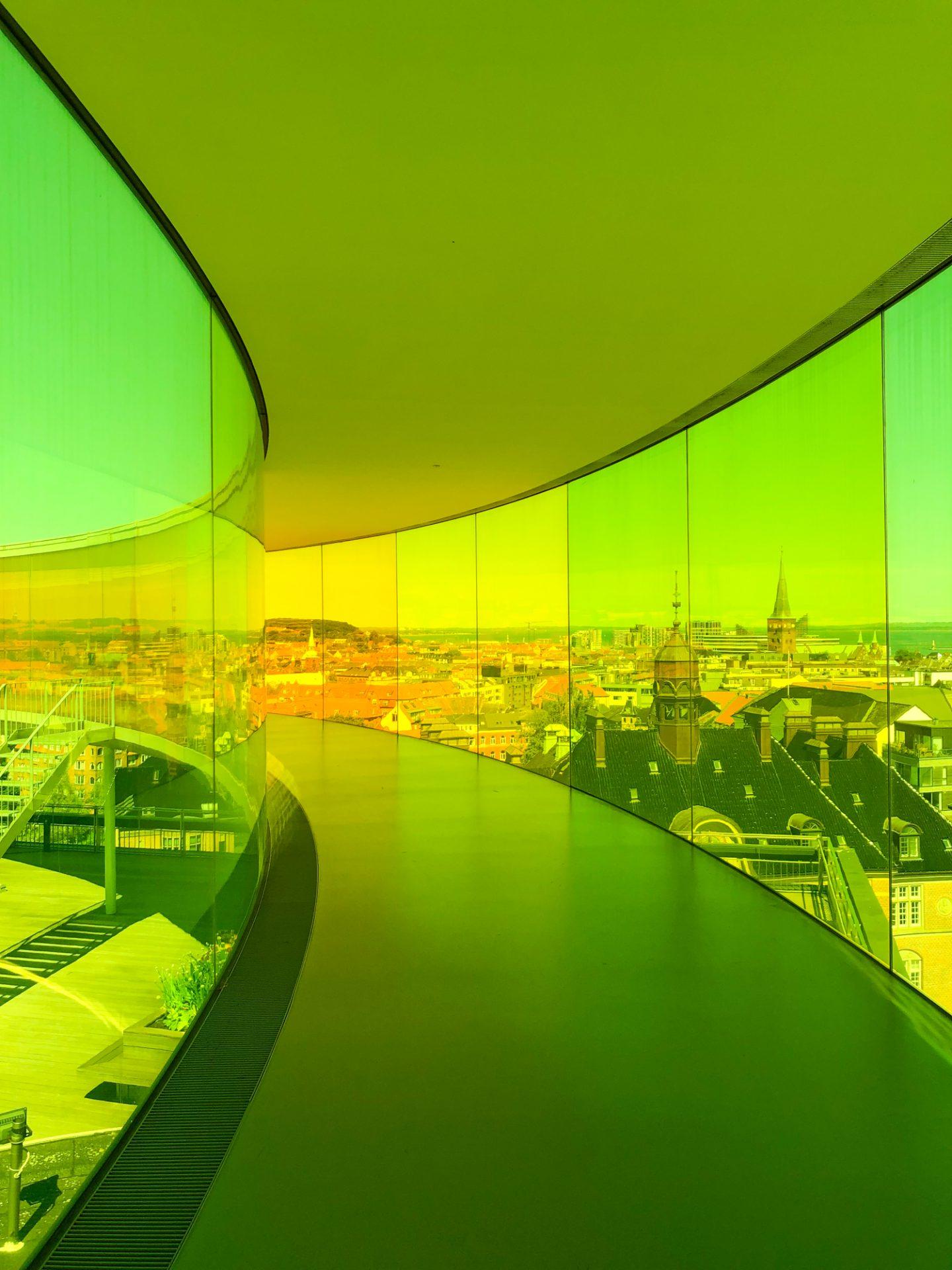 Aarhus Denmark Travel Guide Aros Art Museum Rainbow Panorama Primetime Chaos