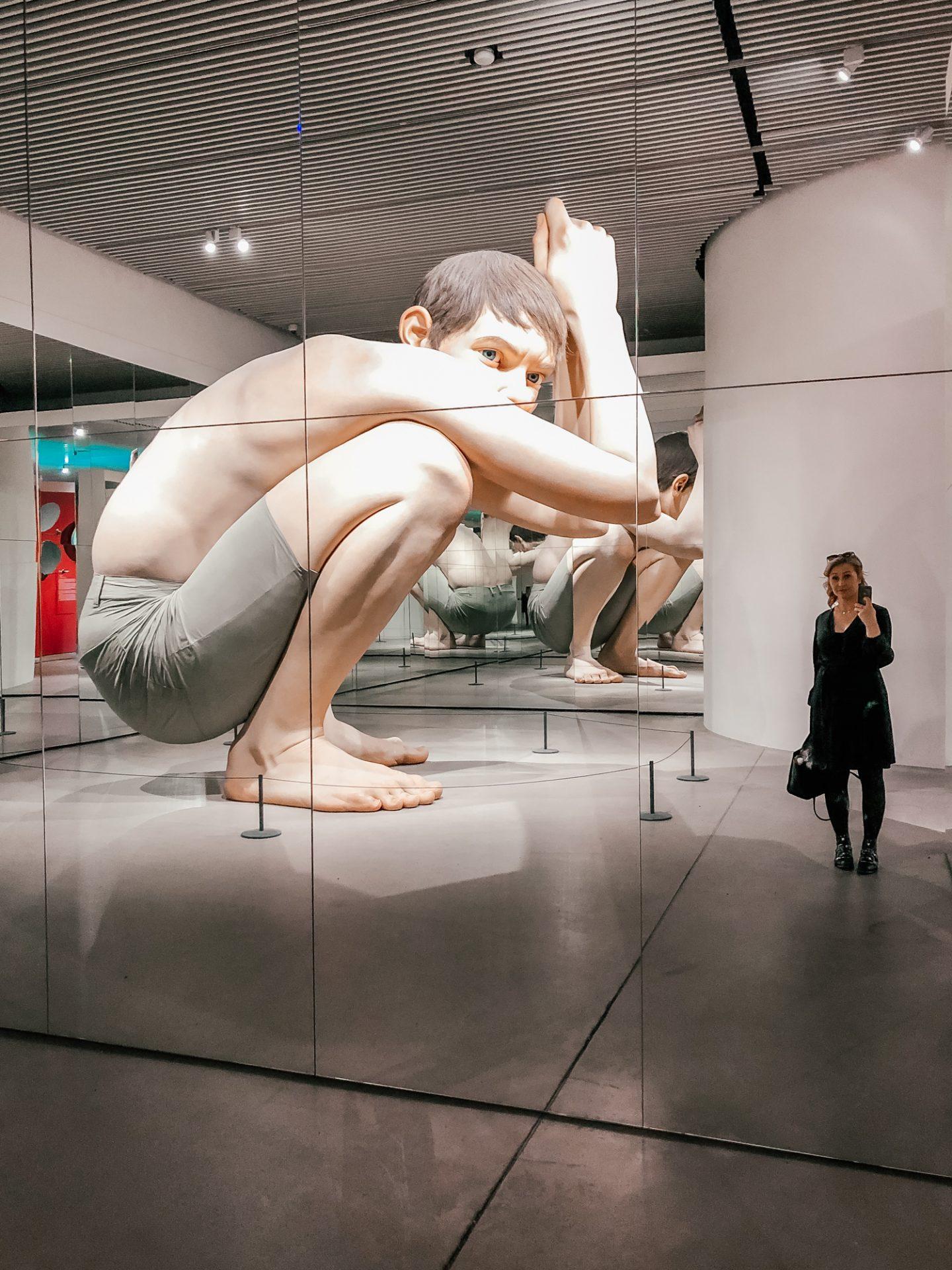 Aarhus Denmark Travel Guide Aros Art Museum Ron Mueck Boy Primetime Chaos